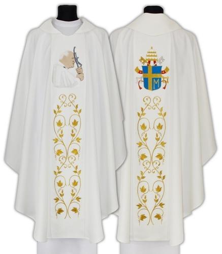 Chasuble with St. John Paul II model 568