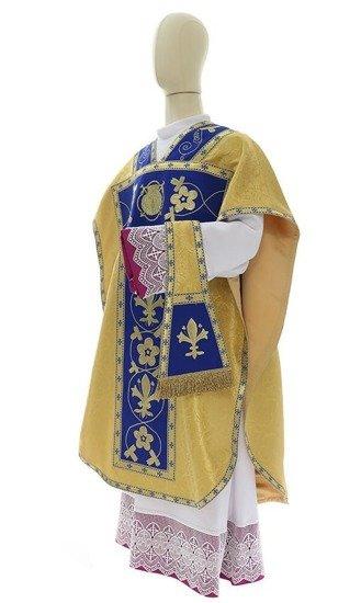 Gold Chasuble St. Philip Neri model 782