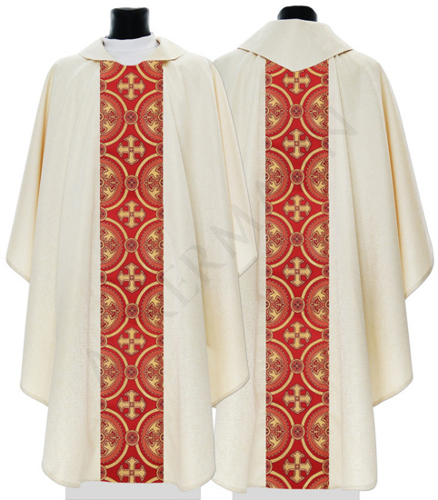 Gold Gothic Chasuble model 055