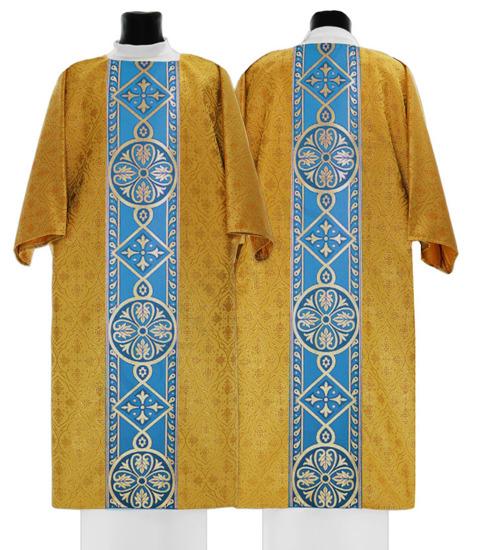 Gold Marian Gothic Dalmatic model 013