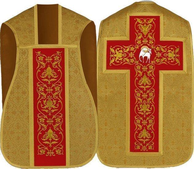 Gold Roman Chasuble Lamb model 724