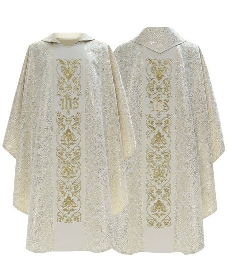 Gothic Chasuble IHS model 518