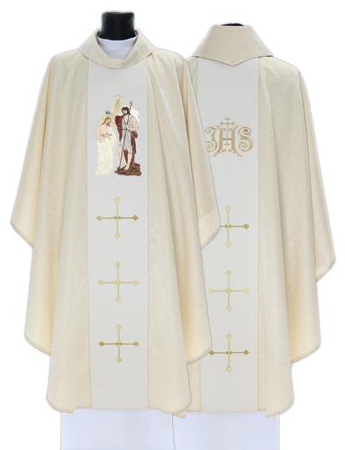 Gothic Chasuble John the Baptist model 405