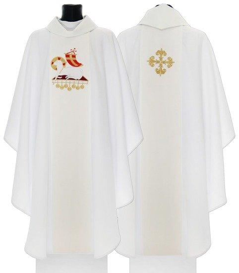 "Gothic Chasuble The Lamb of God ""Agnus Dei"" model 601"