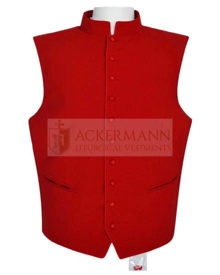 Red clergy waistcoat