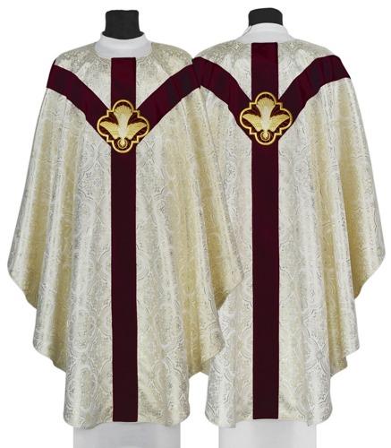 """Semi Gothic Chasuble """"Holy Spirit"""" model 207"""